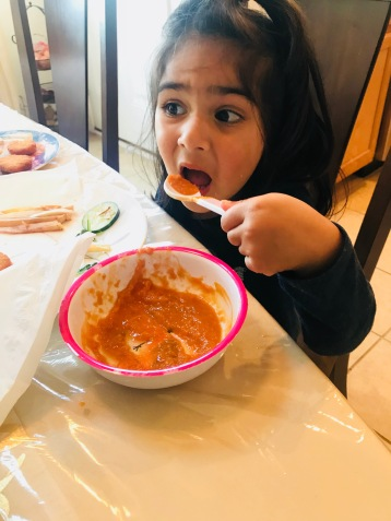 Ridha Loves Soup!